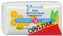 Детское мыло 100 г (Johnson's baby Pure Protect)